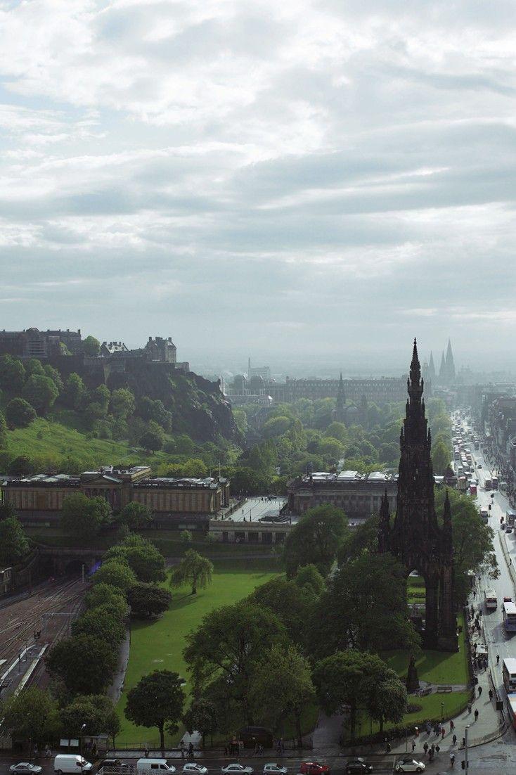 Princes Street is the city's premier shopping strip. #Jetsetter The Balmoral Hotel (Edinburgh, United Kingdom)