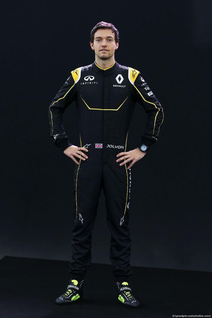 RENAULT F1 PRESENTAZIONE 2016, Jolyon Palmer (GBR) Renault Sport Formula One Team. 03.02.2016.