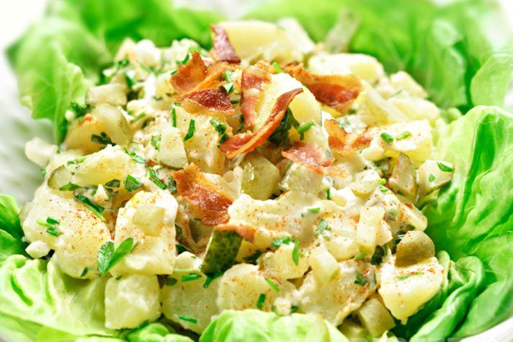 Salade de patate et bacon