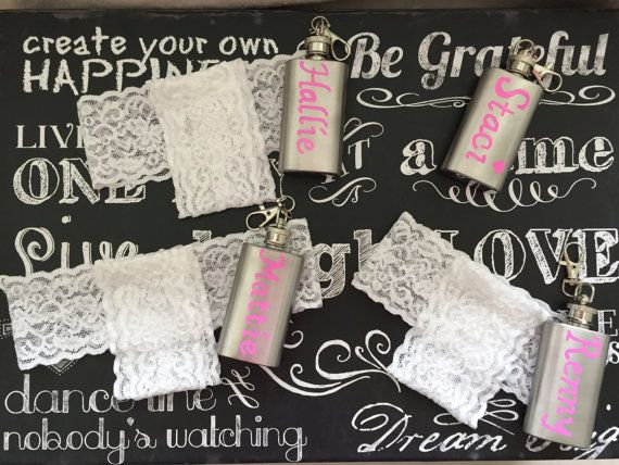 Flask garter-Garter flask holder-Option to by AmBryantDesigns