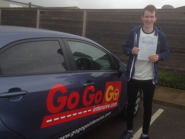 Congratulations to Ryan Stephens who passed his practical test first time with only 1 fault.Ryan attended our intensive driving course where we fast track your practical test and pre book your theory test saving months of waiting. To check out how he did it click here www.gogogointensive.com