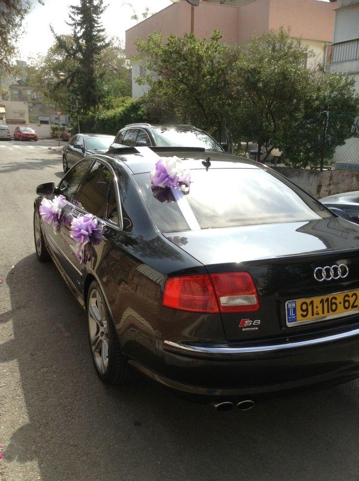 Wedding car decor israel - www.q7limo.com