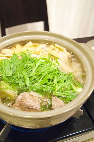 水菜使い切り♪大根と豚肉のはりはり鍋。 by きちりーもんじゃさん ...