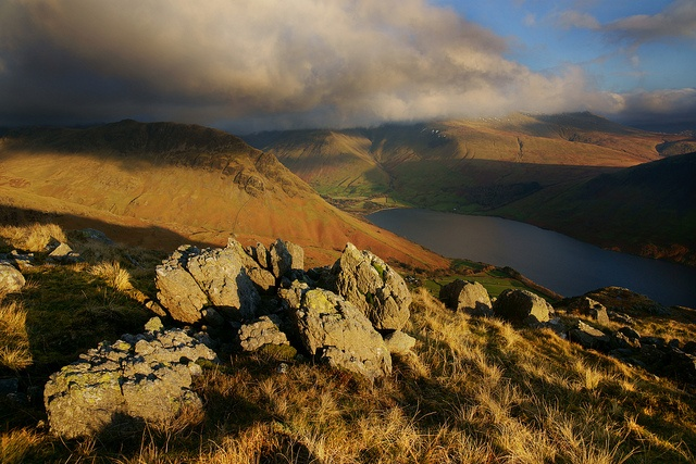 Wast Water From Middle Fell