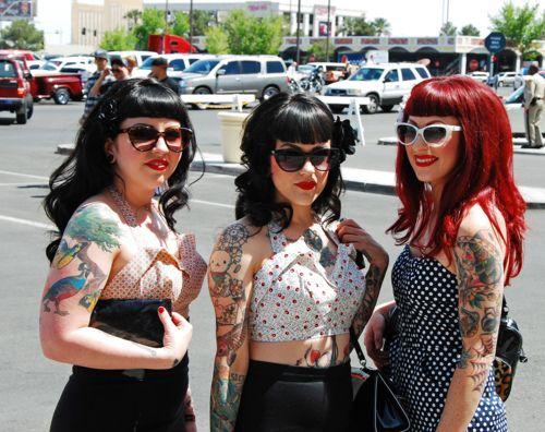 Rockabilly Hair Styles: 25+ Best Ideas About Rockabilly Bangs On Pinterest