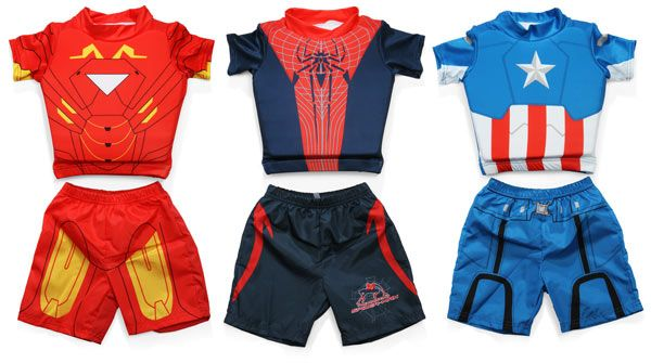 I love these swim suits, just wish they had something for girls