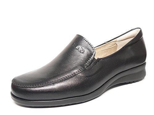 Oferta: 60€. Comprar Ofertas de Zapato casual mujer tipo mocasin en piel color negro de la marca PITILLOS 2316 - 30N (38, negro) barato. ¡Mira las ofertas!