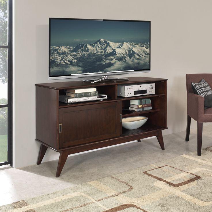 Simpli Home Draper Mid Century TV Stand