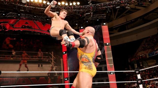 Cody Rhodes vs. Ryback: photos | WWE.com