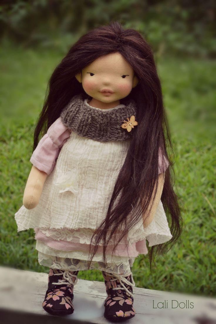 how to make a doll wig from human hair