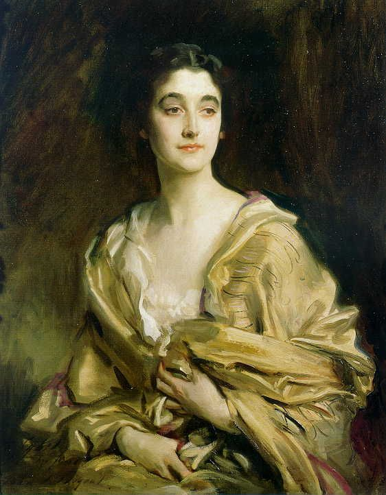 Sibyl Sasson-Countess of Rocksavage, John Singer Sargent, 1913 Inscribed: To Sybil from her friend John S. Sargent 1913.