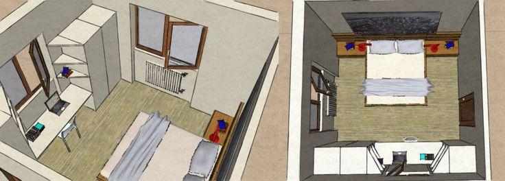 Oltre 25 fantastiche idee su mensole per camera da letto for Disegno di piano piano di 2 camere da letto