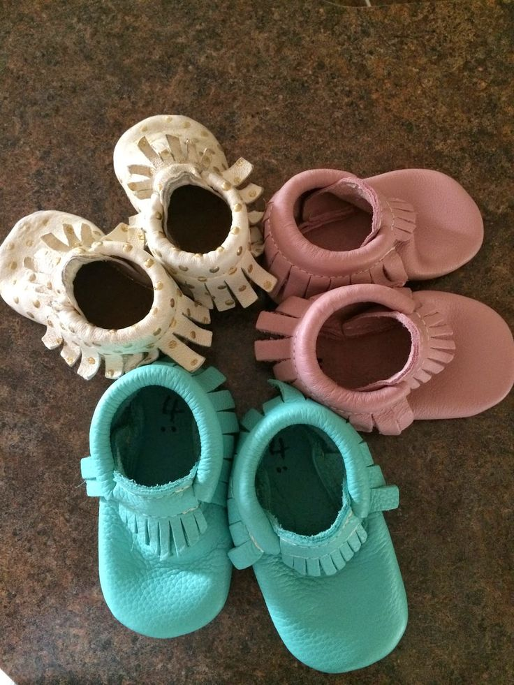 Shh! Mommy's Drinking: We Love Freshly Picked Moccasins!