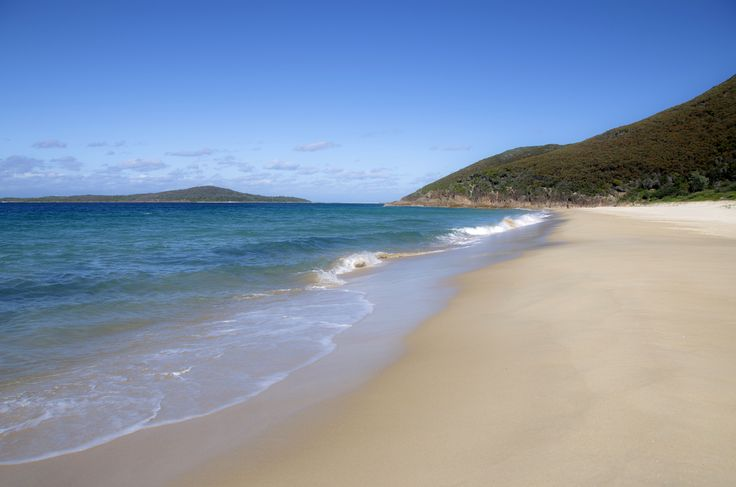 Zenith Beach. A stunning secluded beach accessed at the end of Shoal Bay beach and viewed from the Tomaree Headlands. #portstephens #zenithbeach