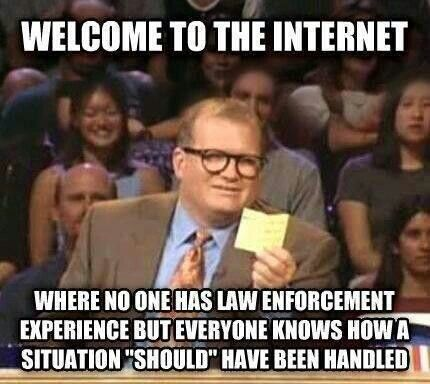 Online dating for law enforcement