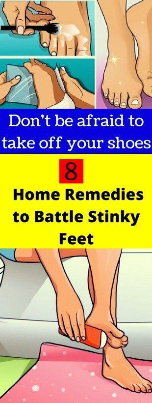 Here 8 Home Remedies To Battle Stinky Feet!!!!