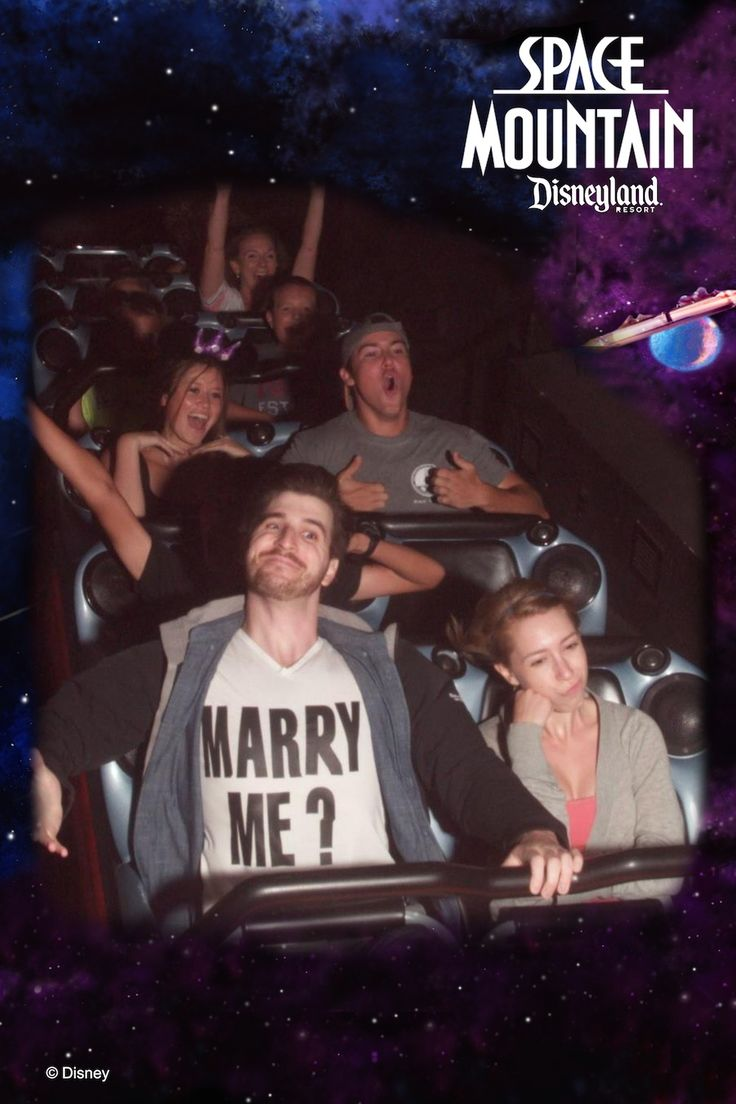 There are few things we love more than a Disneyland engagement: the magic, the surroundings, the sheer joy of the moment.