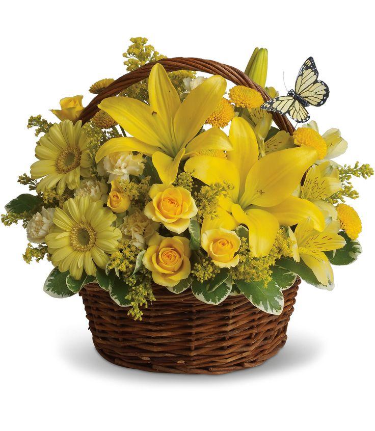 Spring - Basket full of Wishes - Flowerama Columbus - Columbus Florist - Same Day Flower Delivery
