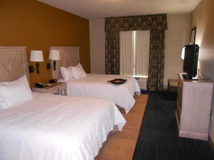 Comfy beds 24/7!!!  Dodge City, Ks Hampton Inn and Suites