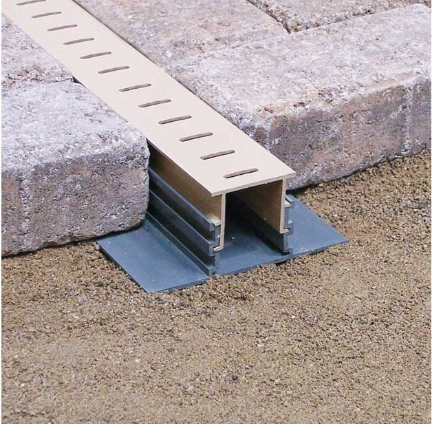 Maybe something like this Stegmeier Paver Drain off to the right side of the…