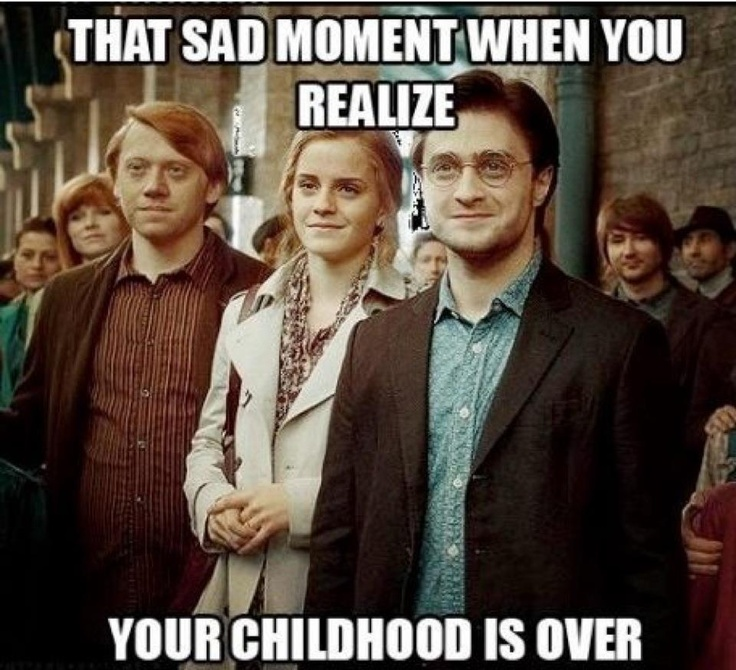 I miss you Harry Potter :'( @Jacqueline Case @Gabrielle Trinkle