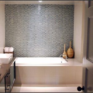 Mosaic Tile Small Bathroom Ideas