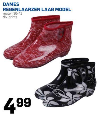 De Action heeft ook deze leuke lage regenlaarzen. Bekijk de folder op Reclamefolder.nl.