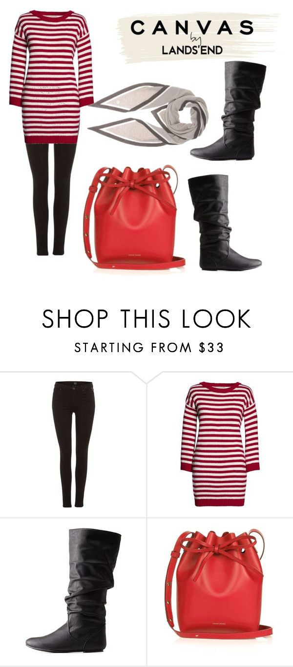 """""""Paint Your Look With Canvas by Lands' End: Contest Entry"""" by simone-kelly-coad-lutwyche ❤ liked on Polyvore featuring Replay, Canvas by Lands' End, Lands' End, Charlotte Russe, Mansur Gavriel and Loro Piana"""