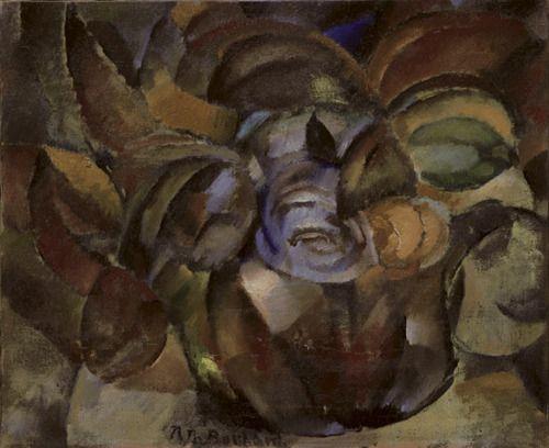 Still life, Rodolphe-Théophile Bosshard. Swiss (1889 - 1960)