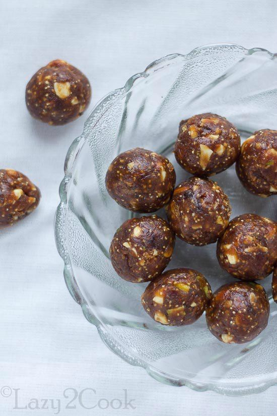 Date and Nuts Ladoo, Khajur ke Ladoo are very easy and quick recipe to make Ladoos. These Healthy balls are very good snack for kids. #Dates Ladoo #Dates Recipe