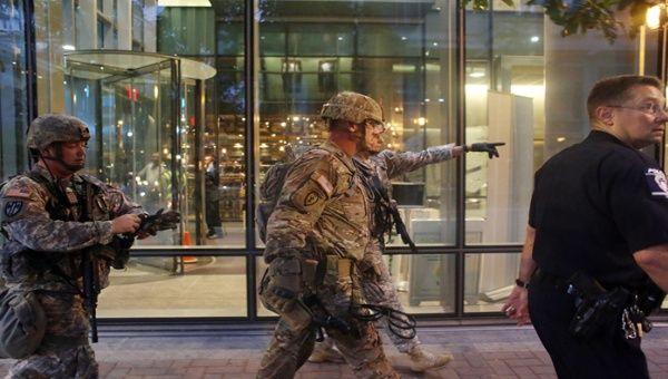 Charlotte tem sido palco de protestos violentos por três noites consecutivas…