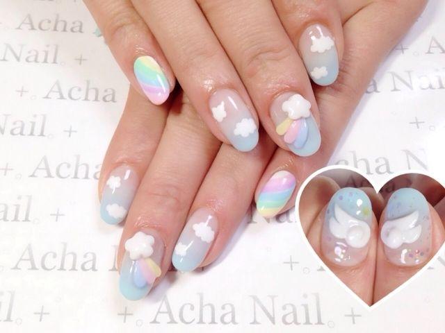 Sweet Berries & Pastel Fairies, Angel Wing Nails