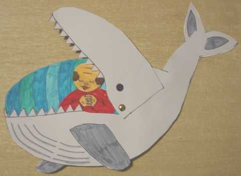 Jona in de buik van de vis