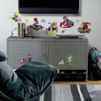 Nintendo Mario Kart Peel and Stick Wall Decals, Multi