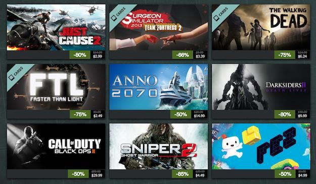 Steam Summer Sale 2013 day two leads with Chivalry: Medieval Warfare for 75% off | Games | Geek.com