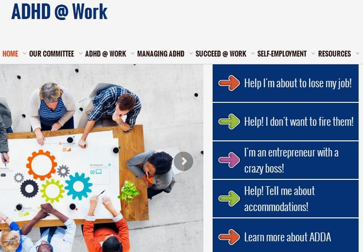ADHD At Work - For employers, employees and entrepreneurs.