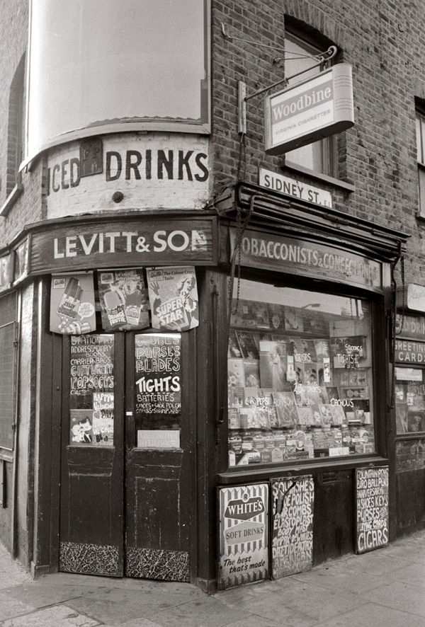 Corner Shop, Sidney St - Tony Bock 1973-8