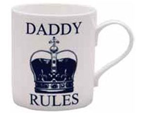 Daddy Rules Mug ... Fathers day gift idea
