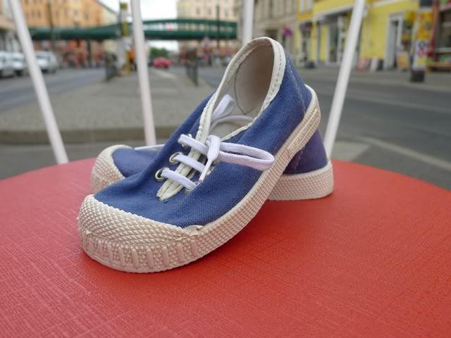 viele Jahre an den Füßen gehabt ;) Germina Intra DDR Kinder Schuhe Sneakers Blau 60er textil True Vintage 70er GDR | eBay