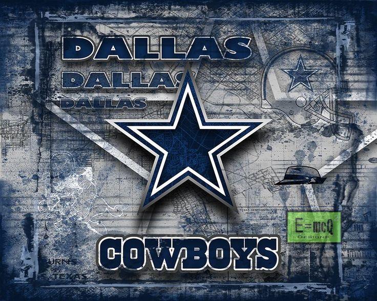 Dallas Cowboys Football Poster, Dallas Cowboys Gift, Dallas Cowboys Map Art, Cowboys Landscape