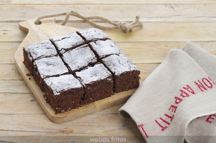 Este brownie también tiene el toque francés de las avellanas sablés que vimos hace poco y con las que hice unas cookies, ¿te acuerdas?