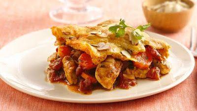 Moroccan-Style Chicken-Crescent Casserole Recipe
