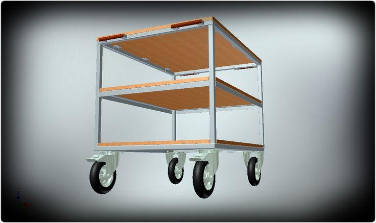 Hand transport cart