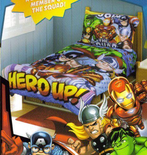 Super Hero Squad Room Decor
