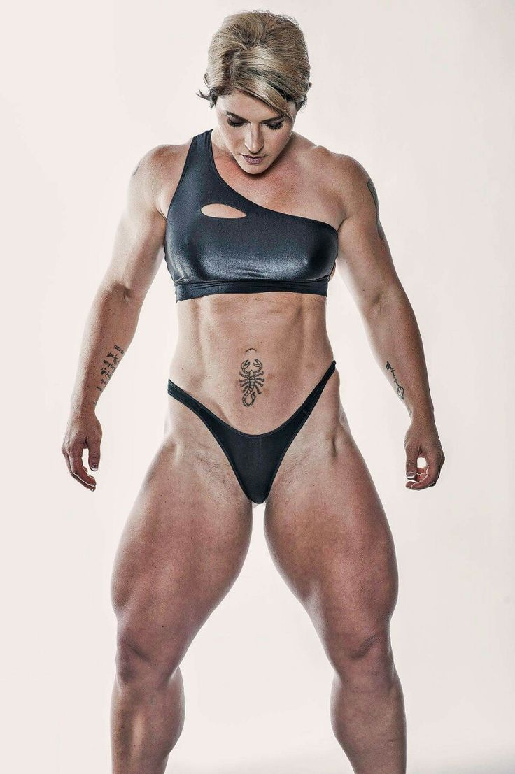 from Ricky bodybuilder female nude pin up