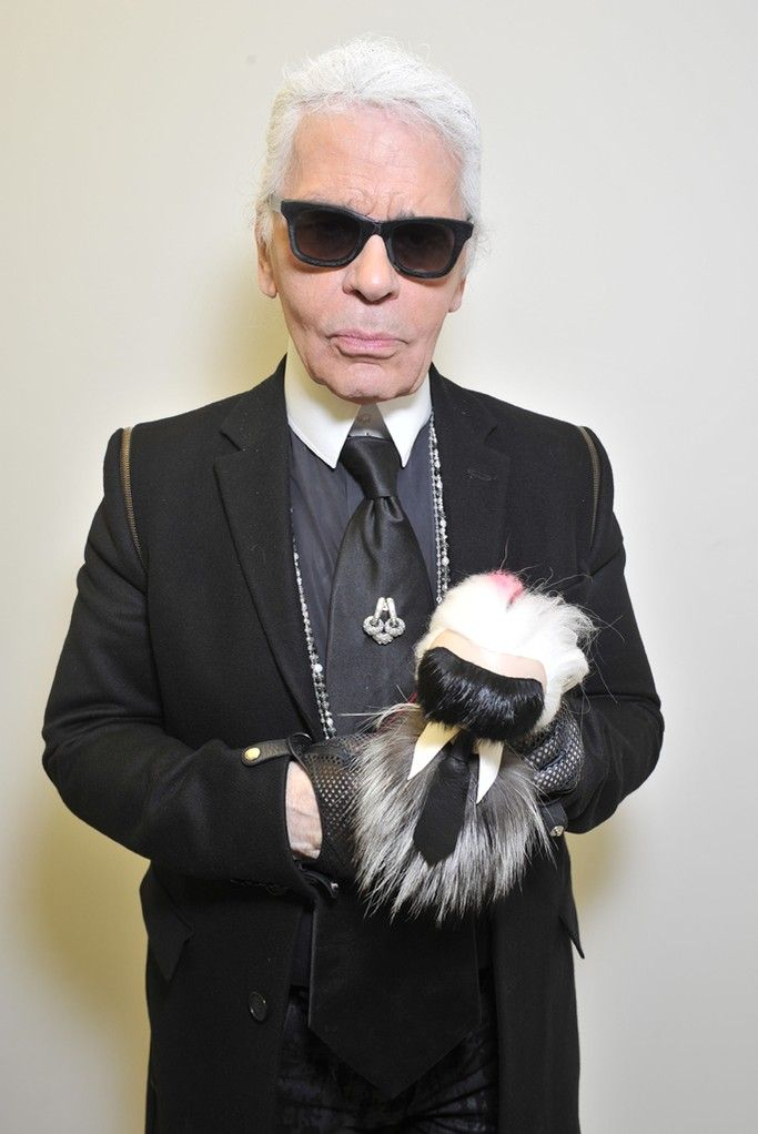 Karl Lagerfeld [Photo by Stéphane Feugère]