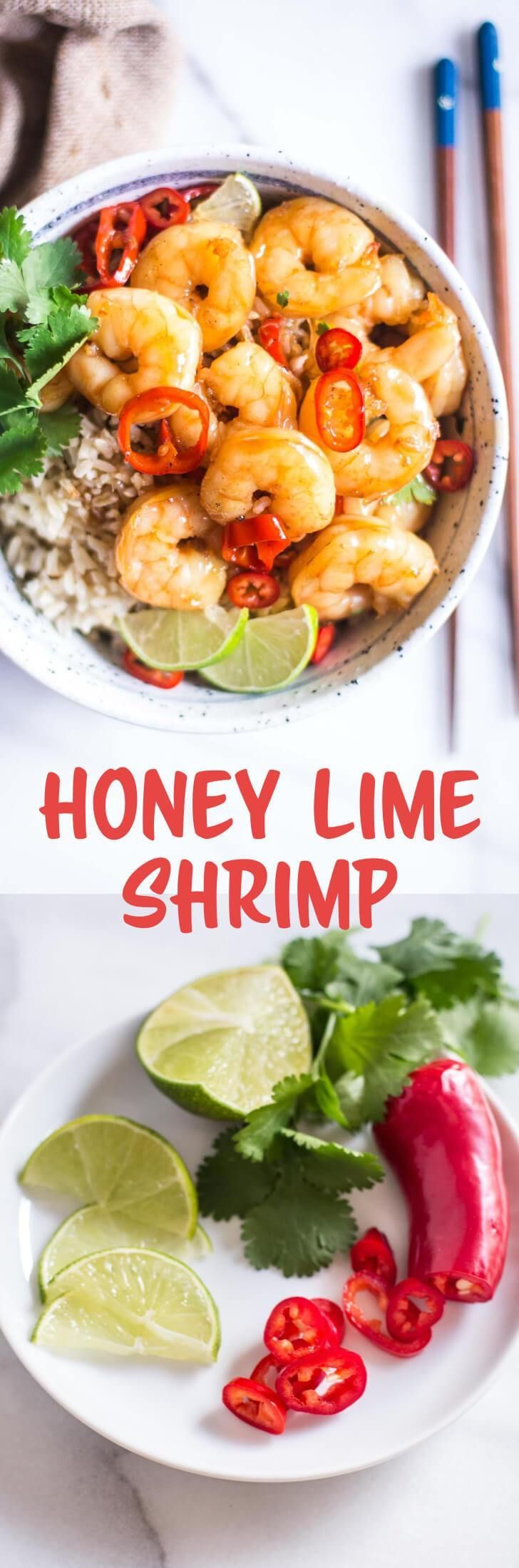 Lovely Honey Lime Shrimp   A Sweet And Savory Sauce Coats Shrimp In This Super  Fast Dinner