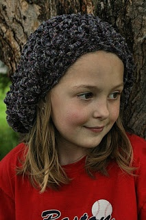 Thick and Quick Beret free crochet pattern