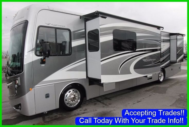 2015 fleetwood excursion 35c used class a rv coach