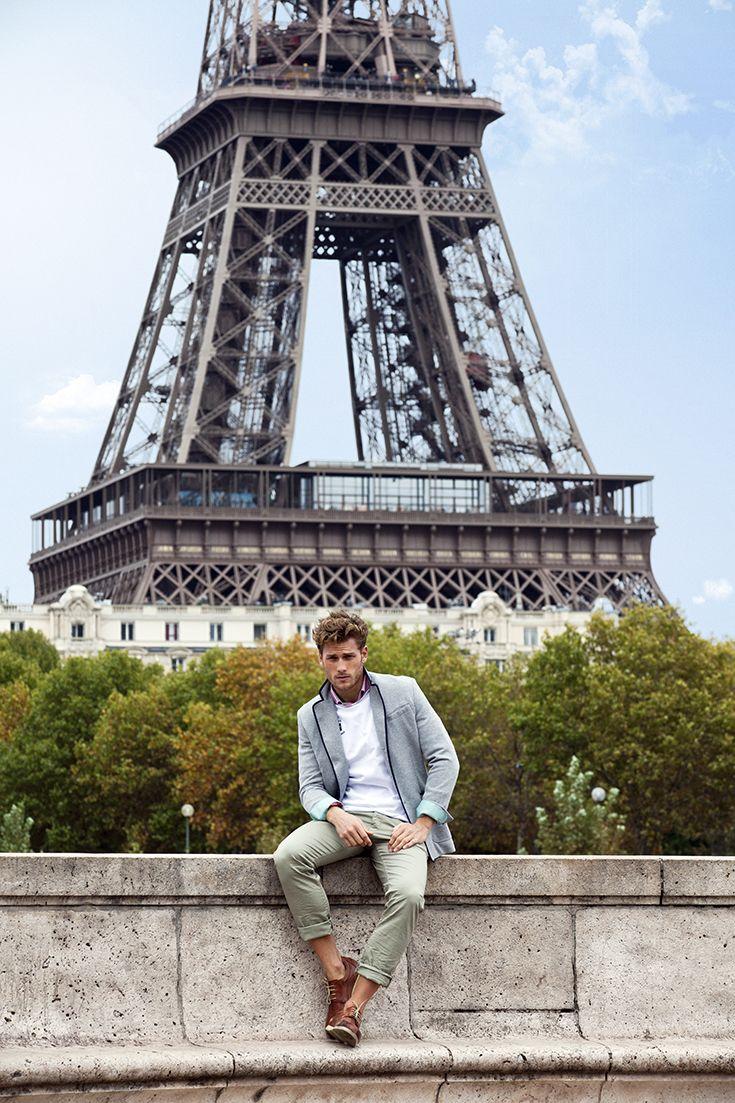 Blazer Eden Park de la collection PE 2012 - Shooting  Paris